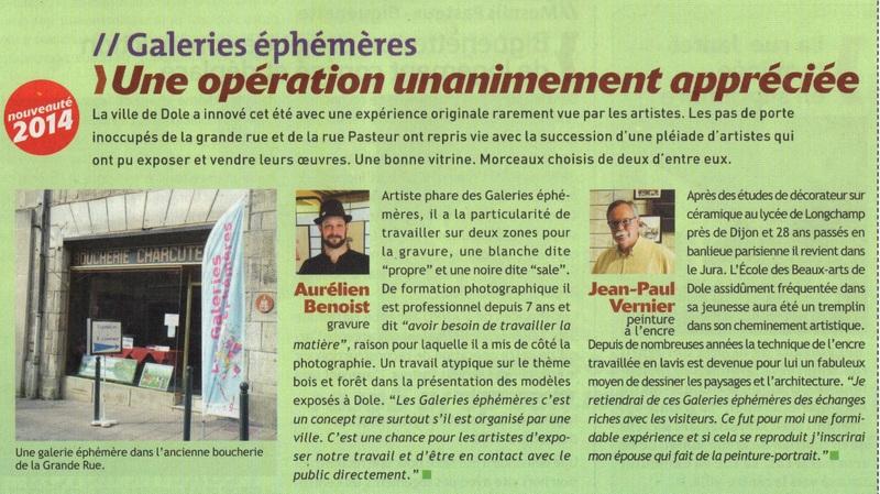 ARTICLE GALERIE EPHEMERES 2014 001
