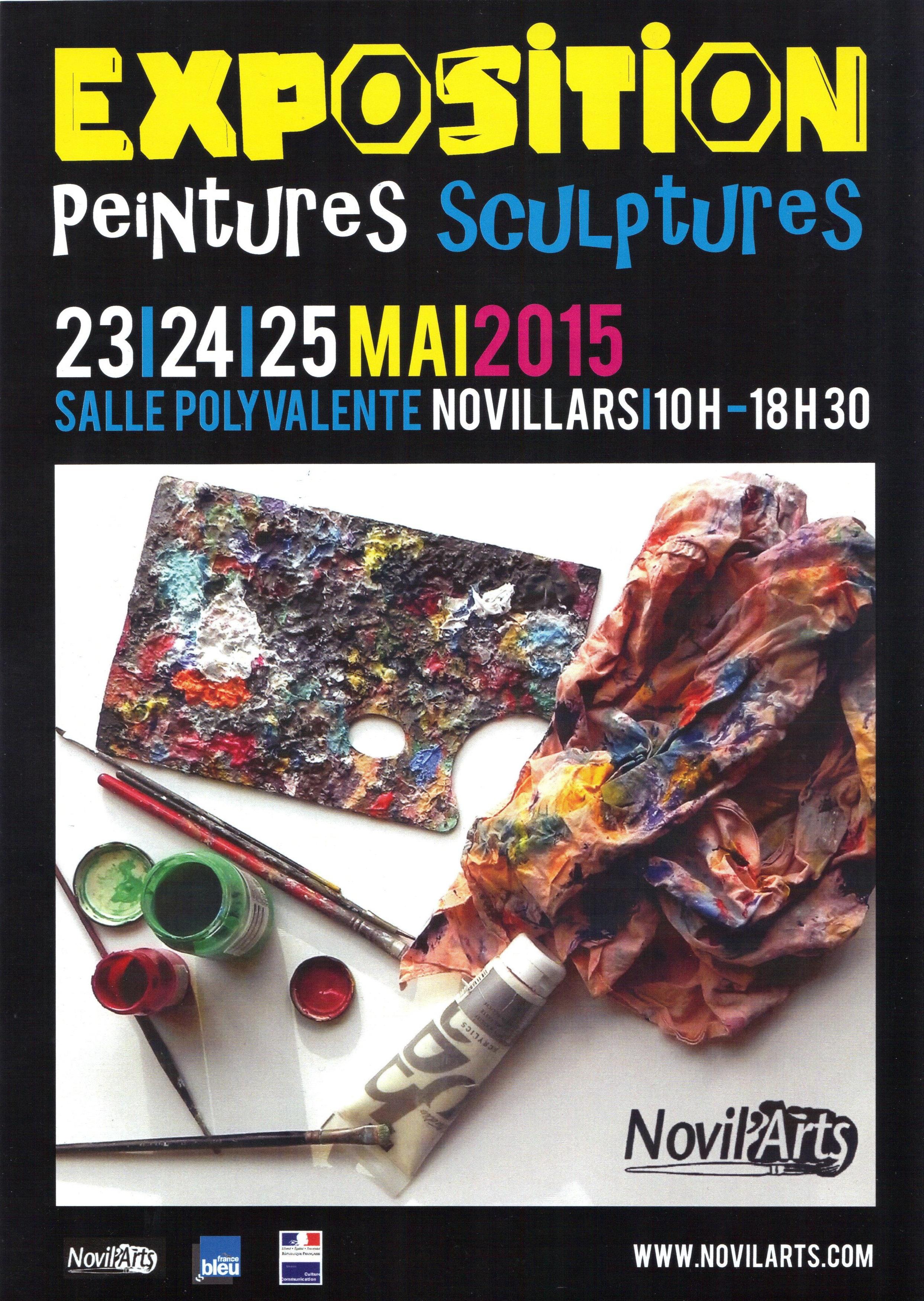 Affiche Novil'ARTS 2015 001