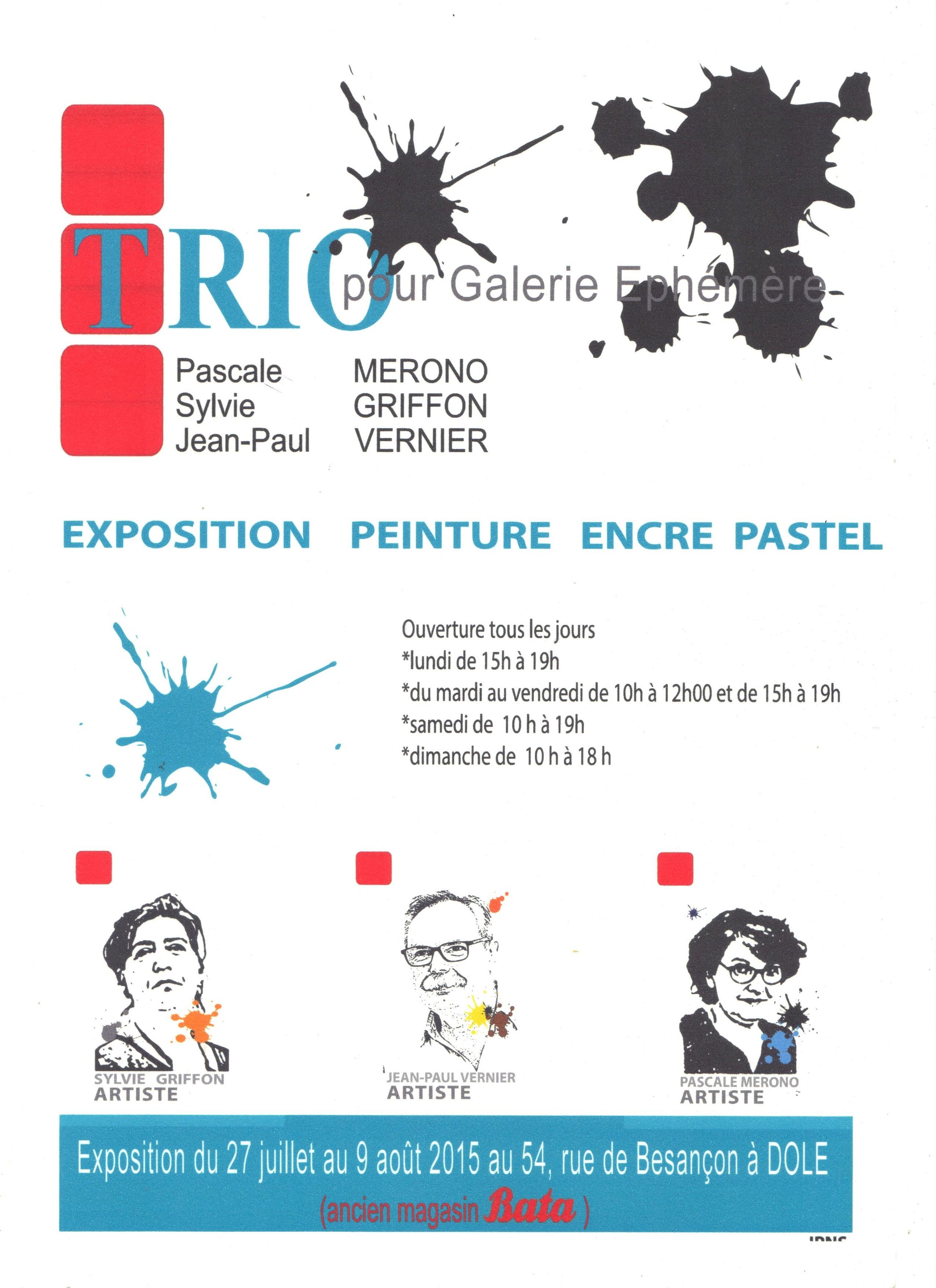 Affiche TRIO 001
