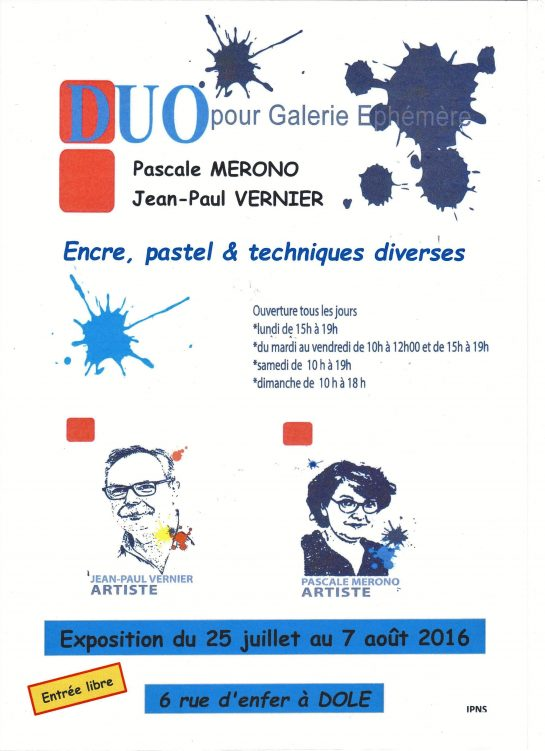 Affiche DUO 2016 002